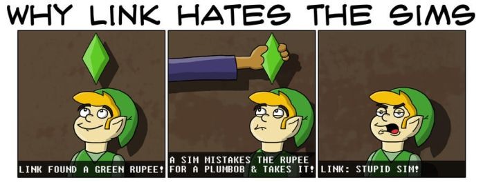 Why Link Hates Sims by Code9Camel