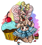 Cherry Eclair gaiaonline by narcolepticpoodle
