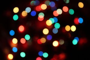 Christmas Bokeh by Grishnakh666