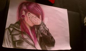 Facepalm (unfinished) by EnvyOfTheNight