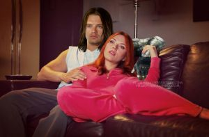 BuckyNat_At Home by Milady666