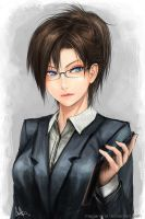 Office Lady by MeganeRid