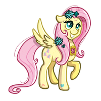 Shine Fluttershy, Shine! by Ithlini