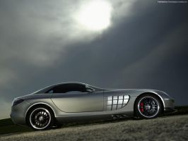 Mercedes Benz SLR 722 2007 01 by FreeWallpapers