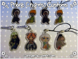 Phone charm [Customs] by WanNyan