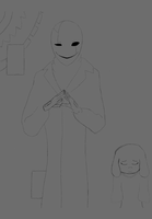 GIF What did you do cryptic questionable skeleton by ChroniclerEnigma