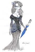 Elena Linceul-Funeral Dress by DemonCartoonist