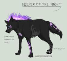 Keeper of the Night Point Auction PAID by Fells-Adopts