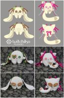 Witchiko's plushies::::::: by Witchiko
