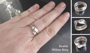 Double Mobius Ring by GeshaR