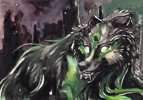 Badlands ACEO by Redwall151