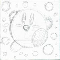 Kirby sketch by Raindroppu