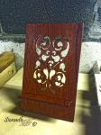 Padauk Tablet Stand by sioranth