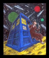 Tardis and Doctor who by ZipDraw