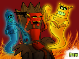 [Futurama] Imagine a Hell like this... by PawFurryFoxy
