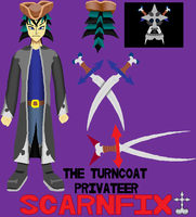 Scarnfix de Turncoat Privateer by PumpkinApprentice431