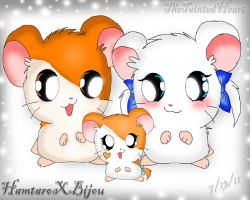 Hamtaro Bijou and... WHAT? by TheTaintedHeart