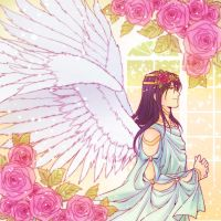 Wings and Flowers by NEWLL