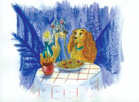 Lady and the Tramp by RachelKaiser