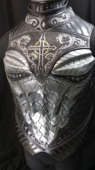 Dragon Crusader Breastplate Preview by Azmal