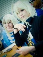 ryou bakura and yami no bakura by Kaallisi