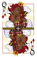Queen of Diamonds by Lady-Banigaru