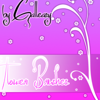 flowers brushes by Galleasy