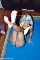 Stacy Burke - Leather Bound Playtime 3 by slamm345