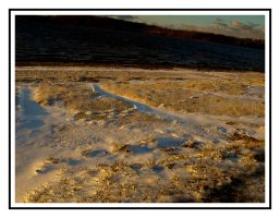 Snow and Sand by lehPhotography
