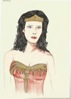 Wonder Woman by TheLonelyMoon8