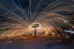 Steel Wool - Experimental by fighteden