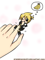 Len... That's Not A Banana.. by OrangeCornPuff