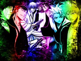 Bleach boys by buburu