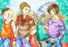 Aceo - Lets .... double date by cross-works