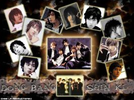 DBSK Wall paper by cheela