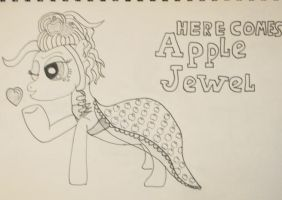 Here Comes AppleJewel by IronBrony