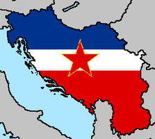 The Socialist Federal Republic of Yugoslavia Flag by LtAngemon