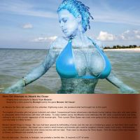 Slime Girl Absorbs the Ocean 1 by Burst-Your-Breasts