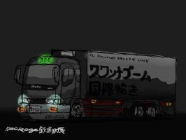 Isuzu Deca night version by ngarage