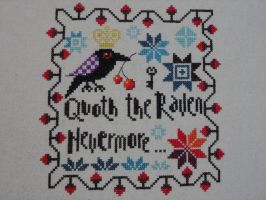 Quoth the Raven Nevermore... by carand88
