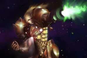 Samus detail by Mlad