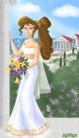 Megara the bride - update by AgiVega