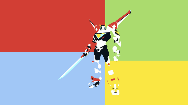 Voltron Minimalist Wallpaper by DamionMauville