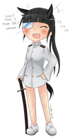 Mio thinks Locey is Cool   Gift by BookmarkAHead
