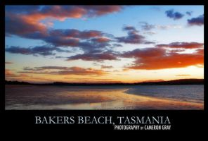 Bakers Beach Sunset by parablev