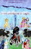 MLP Fimfiction - Darkness To Light POSTER by Pixel-Spark