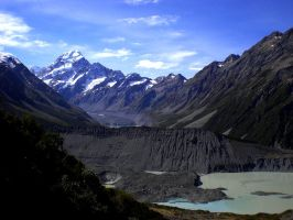 Mount Cook by Katzilla13