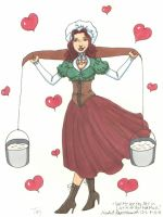 In Love With That Milkmaid by CrystallineColey