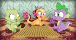 MLP FIM: Game of Stones by SaturnGrl
