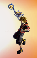 Kingdom Hearts 3: Sora by CelestialDarkMatter